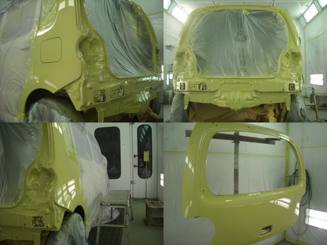 軽自動車 塗装