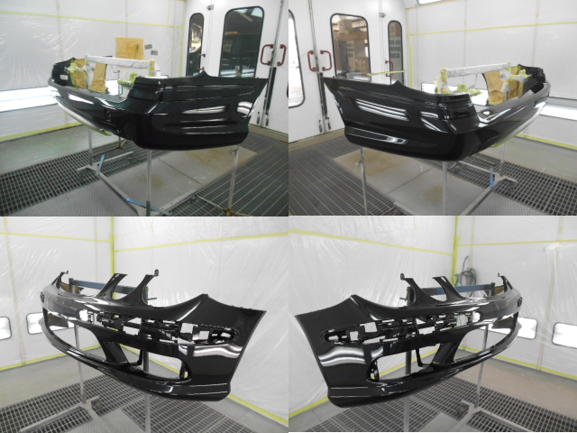 AMGのバンパー修理3
