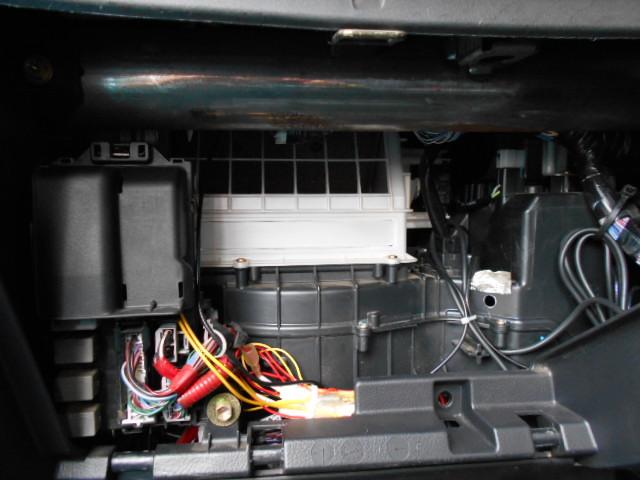 ムーブのエアコン清掃1