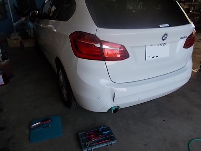 PPバンパーの裂傷キズ変形 修理